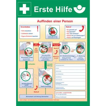 GRAMM medical Erste-Hilfe-Notfalltafel 1 Stück