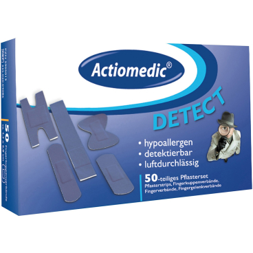 Actiomedic® DETECT+ ELASTIC Pflasterset