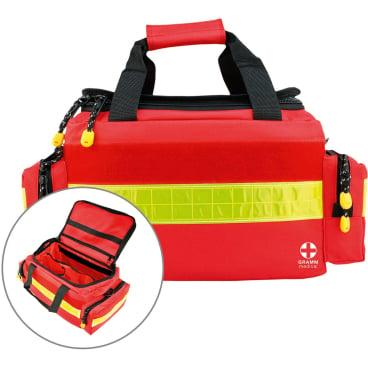 GRAMM medical Notfalltasche nach DIN 13157, rot