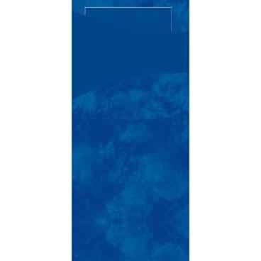 """DUNI Serviettentaschen """"Sacchetto"""", Tissue dunkelblau"""