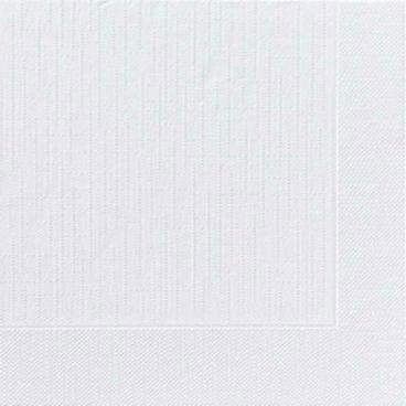 DUNI Servietten, 40 x 40 cm, 4-lagig, weiß