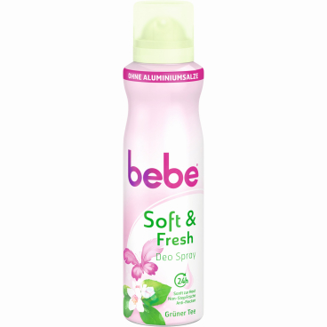 bebe® Young Care Soft & Fresh Deo Spray