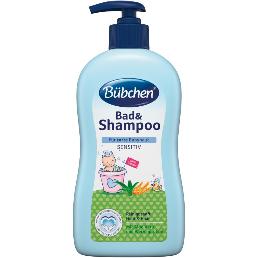 Bübchen Bad Shampoo 400 Ml Pumpflasche Online Kaufen Hygide
