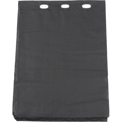 TSP Bio Hundekotbeutel Basic, schwarz, 20 x 33 cm