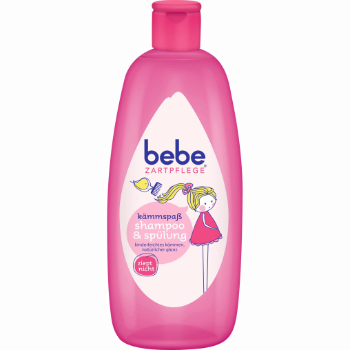 bebe® Zartpflege Kämmspaß Shampoo & Spülung