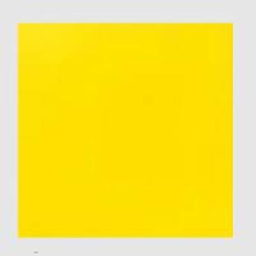 DUNICEL-Tischdeckenrollen unbedruckt gelb