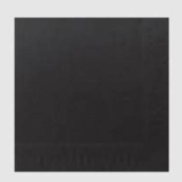 DUNICEL-Tischdeckenrollen unbedruckt schwarz