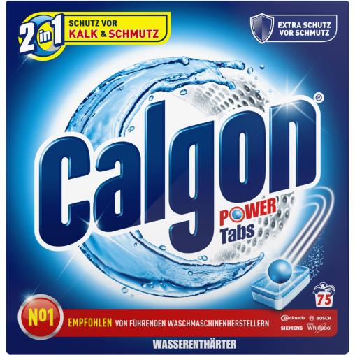 Calgon 2 in 1 Waschmaschinen-Wasserenthärter-Tabs