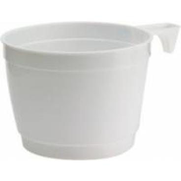 DUNI Kaffeetassen weiß, Kaffeetasse 250 ml, 1 Karton = 1000 Stück