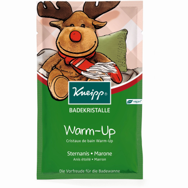 Kneipp® Warm-Up Badekristalle