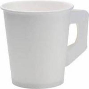 DUNI Kaffeetasse mit Henkel 180 ml, weiß, 1 Karton = 20 x 80 Stück