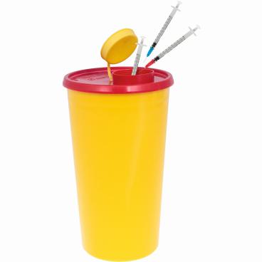 Meditrade Medi-Box Kanülen Entsorgungsbehälter