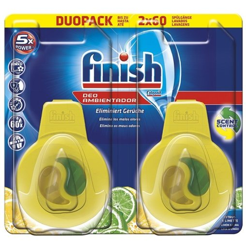 Finish Calgonit Spülmaschinen-Deo Citrus & Limone