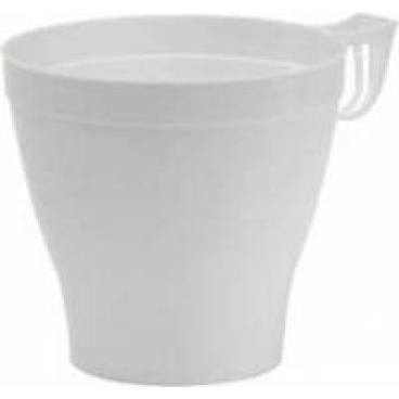 DUNI Kaffeetassen weiß, Kaffeetasse 370 ml, 1 Karton = 480 Stück