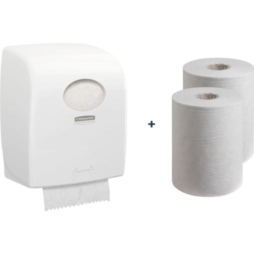 "Kimberly-Clark Aktionsset ""Hygiene"" Handtuchpapier + Spender"