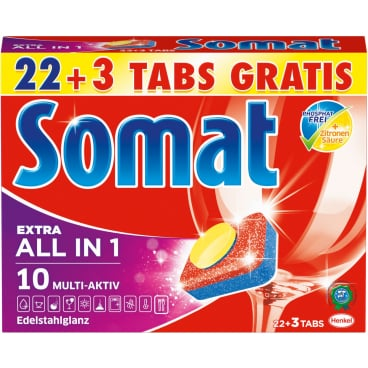Somat 10 Tabs All in 1 Extra Spülmaschinentabs