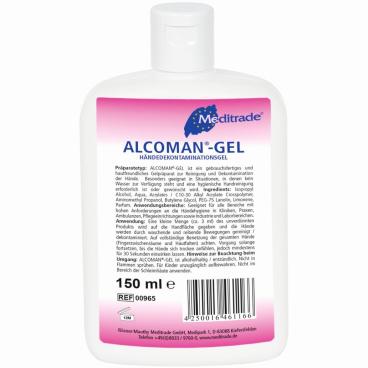 Meditrade Alcoman® Gel Handreiniger
