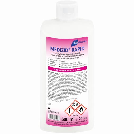 Meditrade Medizid® Rapid Sprühwischdesinfektion