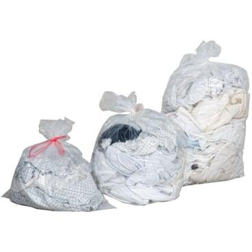 Wasserlöslicher Wäschebeutel 21 l, 40 x 50 cm, neutral