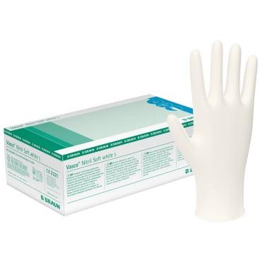 B. Braun Vasco® Nitril Soft white Einmalhandschuhe