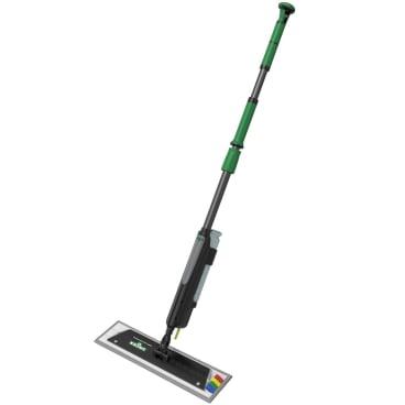 UNGER erGO! clean Klettmopp Bodenreinigungs-Set