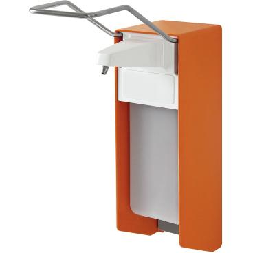 TEMDEX® Desinfektionsmittel- und Seifenspender Aluminium, orange