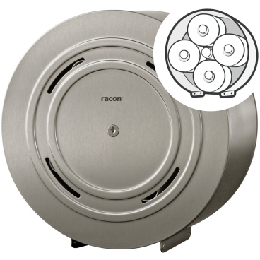 racon® X KR quattro anti-finger-print Toilettenpapierspender