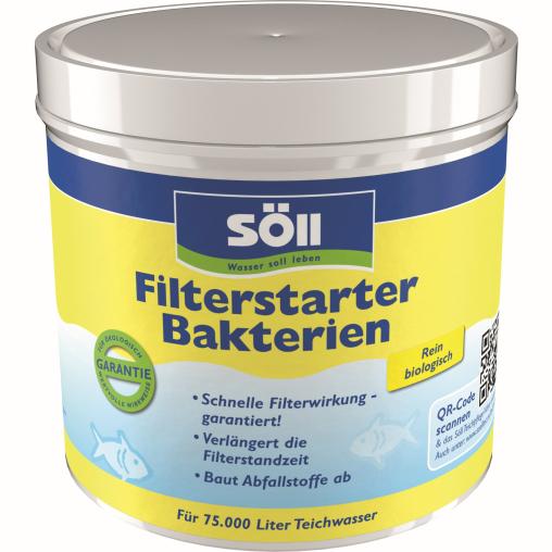 Söll FilterstarterBakterien hochreine Mikroorganismen