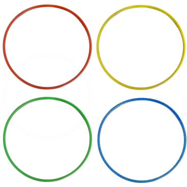 UNGER erGO! Farbkodierungsringe-Set