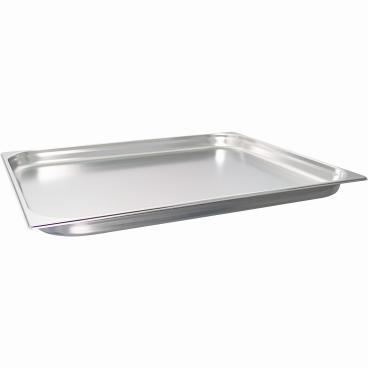 SCHNEIDER GN-Behälter 2/1, Edelstahl, Maße: 530 x 650 mm