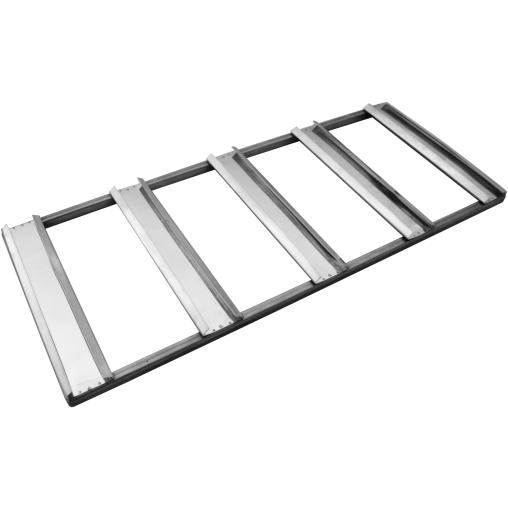 Aufnahme für Lammformen, aluminierter Stahl