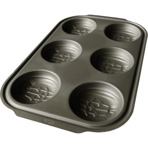 WALTER Premium Halloween 6er Muffin Backform