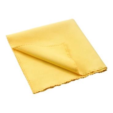 MEGA Clean Professional Mikrofaser Softtuch, 40 x 40 cm 1 Stück, Farbe: gelb