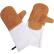 SCHNEIDER Leder Backhandschuhe, orange, 400 mm