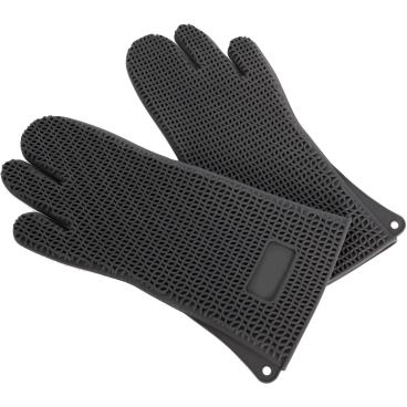 SCHNEIDER Silikon Backhandschuhe, schwarz
