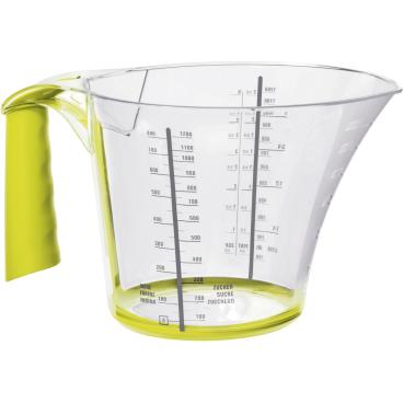 Rotho LOFT Messbecher, transparent-grün