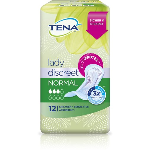 TENA Lady Discreet Normal Slipeinlagen
