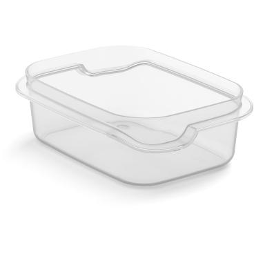 Rotho MATCH & GO Frischhaltedosen-Unterteil small, transparent
