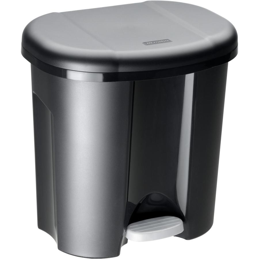 rotho duo abfalleimer 20 liter farbe schwarz online. Black Bedroom Furniture Sets. Home Design Ideas