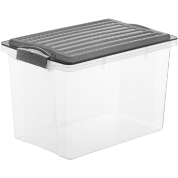 Rotho COMPACT Stapelbox, 19 Liter