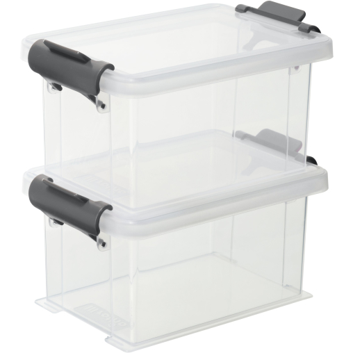 Rotho FUNCENTER Aufbewahrungsboxen, 2-teilig
