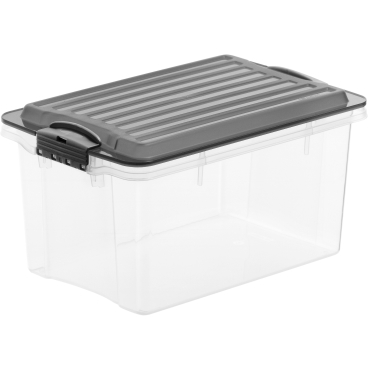 Rotho COMPACT Stapelbox, 4,5 Liter