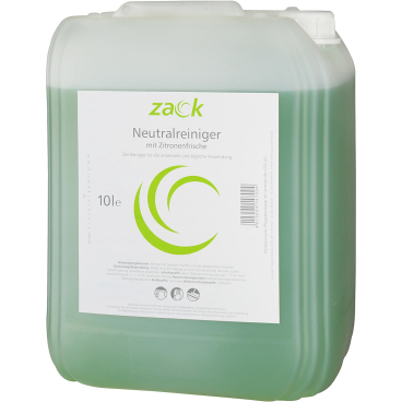ZACK Neutralreiniger mit Zitronenfrische