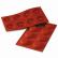 SCHNEIDER Silikon-Backform, Krapfen, rot