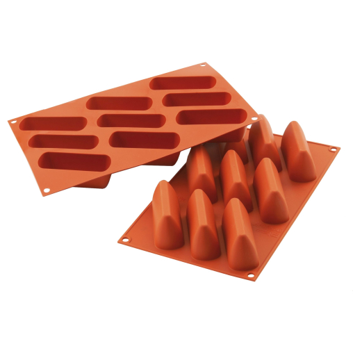SCHNEIDER Silikon-Backform, Nusspraline, rot