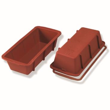 SCHNEIDER Einzelne Silikon-Backform, Königskuchen, rot