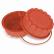 SCHNEIDER Einzelne Silikon-Backform, Terracotta, rot