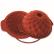 SCHNEIDER Einzelne Silikon-Backform, Blüte, rot