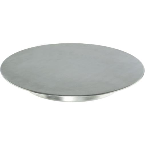 SCHNEIDER Tortenplatte, Edelstahl, mit geschlossenem Boden