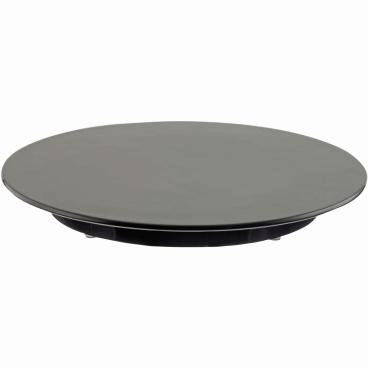 SCHNEIDER Tortenplatte, Melamin, schwarz Höhe: 30 mm, Ø 240 mm
